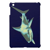 shark fish, wild animals iPad mini case