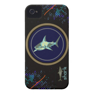 shark fish, wild sea animal Case-Mate iPhone 4 cases