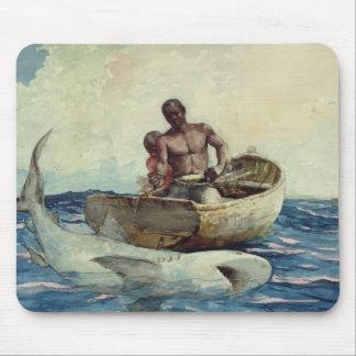 Shark Fishing, 1885 Mouse Pad
