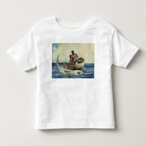 Shark Fishing, 1885 Toddler T-shirt