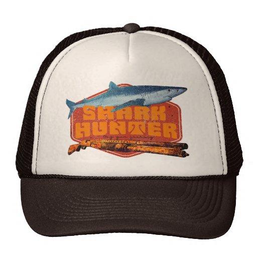 Shark fishing hats