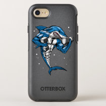 Shark Fitness Weightlifting OtterBox Symmetry iPhone SE/8/7 Case