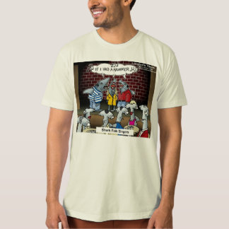 Shark Folk Singers 100% Organic Mens Tees