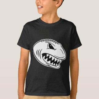 Shark Football Dark Shirt