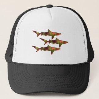 Shark Frenzy Trucker Hat