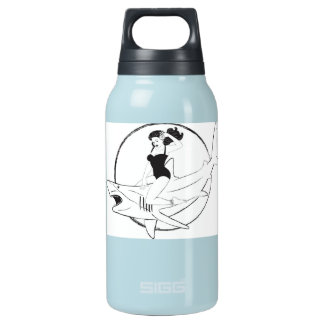 Shark Girl Swimmer Thermos Thermos Bottle