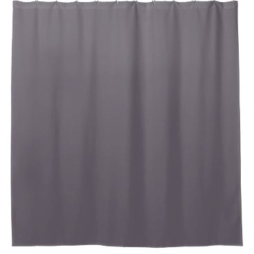 fabricatedframes shark gray solid color shower curtain