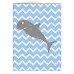 Shark. Greeting Card