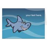Shark Grin Greeting Card