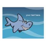 Shark Grin Post Card