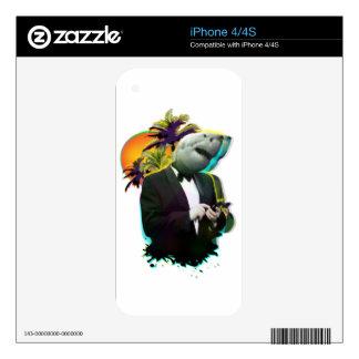 SHARK GUY iPhone 4S SKIN