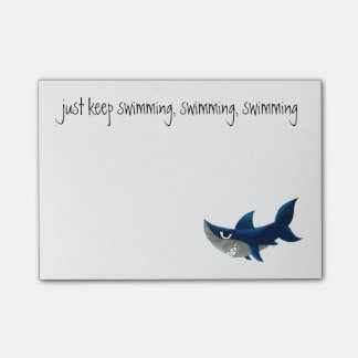 "Shark ""Hai"" Post-it® Notes"