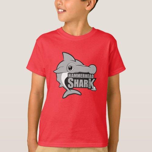 Shark Hammerhead Shark Kids Tee