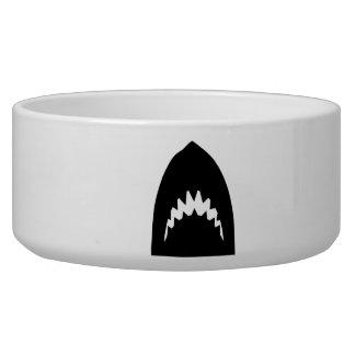 Shark head teeth bowl