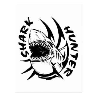 SHARK HUNTER POSTCARD