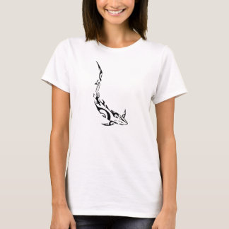 Shark in black and white - T-Shirt