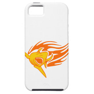 Shark in Flames iPhone SE/5/5s Case