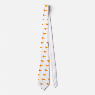 Shark in Flames Neck Tie