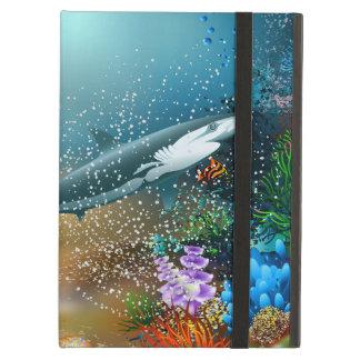 Shark In Ocean Cover For iPad Air