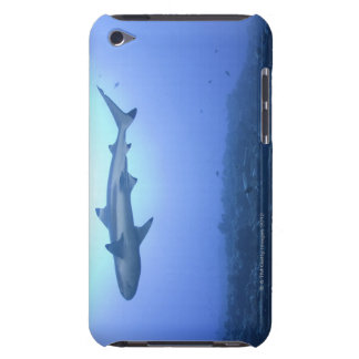 Shark in ocean, low angle view barely there iPod cover