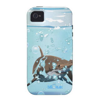 Shark In The Jar Case-Mate iPhone 4 Cover