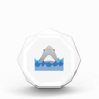 Shark In Water Acrylic Award