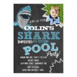 SHARK INFESTED Birthday Party Invitation