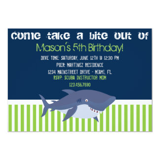 Shark Invitation