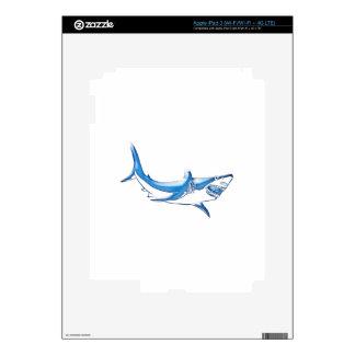 Shark iPad 3 Decal