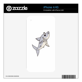 Shark iPhone 4S Decal