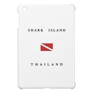 Shark Island Thailand Scuba Dive Flag iPad Mini Case