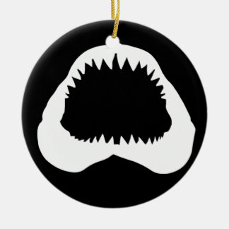 Shark Jaw Ceramic Ornament
