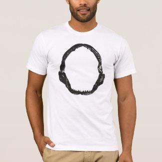 Shark Jaws Black T-Shirt