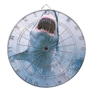 Shark jump dart boards