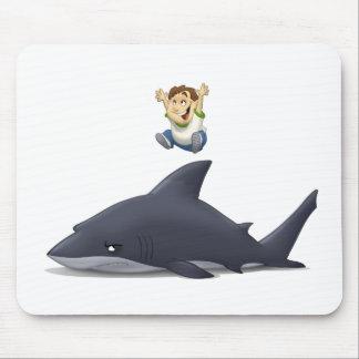 Shark Jumper Mouse Pad
