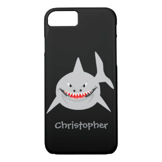 Shark Just Add Name iPhone 7 Case