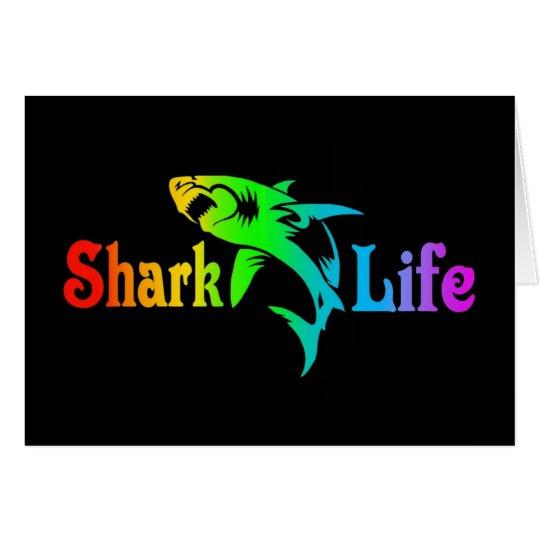 Shark Life Card