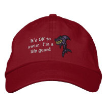 Shark Life guard Embroidered Baseball Cap