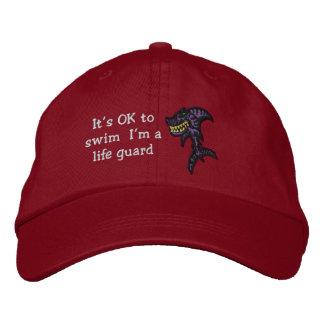 Shark Life guard Embroidered Baseball Cap