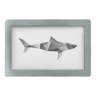 Shark Logo Belt Buckle