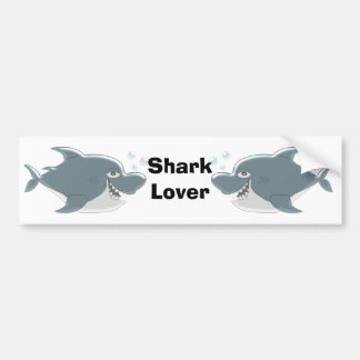 Shark Lover Bumper Sticker