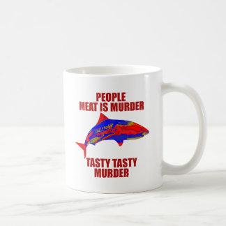 Shark - Meat Is Murder Coffee Mug