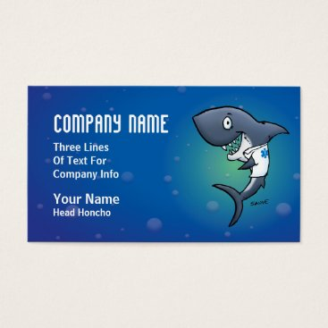 Professional Business Shark Medical Healthcare Business Cards