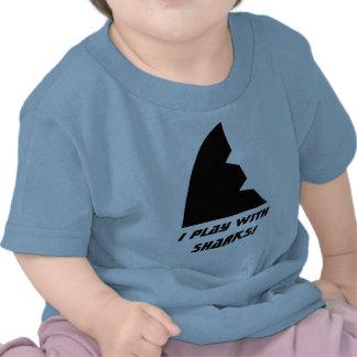 Shark Meeple baby shirt
