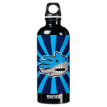 Hand shaped Shark mouth aluminum water bottle
