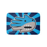 Hand shaped Shark mouth bath mat
