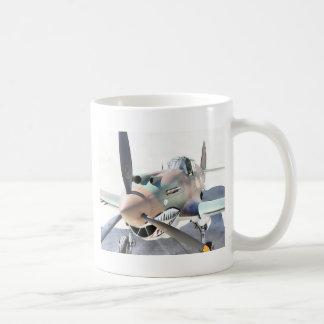 Shark Mouth Fighter Coffee Mug