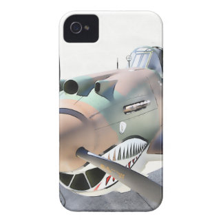 Shark Mouth Fighter iPhone 4 Cover