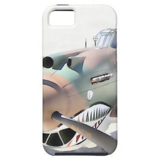 Shark Mouth Fighter iPhone SE/5/5s Case