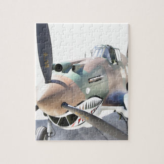 Shark Mouth Fighter Jigsaw Puzzle